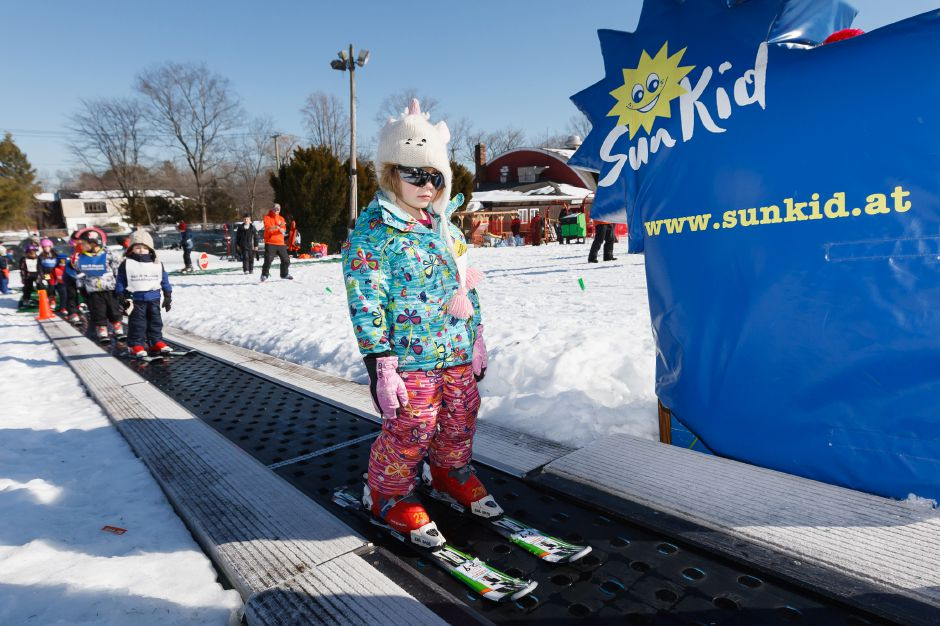 Mount Southington ranks second on TripAdvisor.com's list of things to do in Southington. In this file photo, Lou Beckwich, 6, of Vermont rides the lift on the bunny hill during Mt. Southington