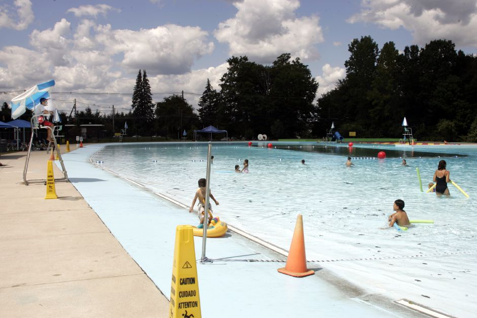 The Community Pool in Wallingford Thurs., Aug. 17. The last day for swimmers is this Sat. when the pool will close for the year.
