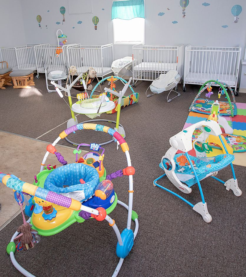 One of three rooms at Grandma's Cozy Cottage, a new day care center at 210 Main St. in Wallingford, Tues., Dec. 11, 2018. The day care plans to open its doors on January 2nd. Dave Zajac, Record-Journal