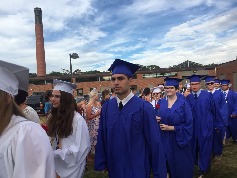 Lyman Hall High School graduation. | Bailey Wright, Record-Journal