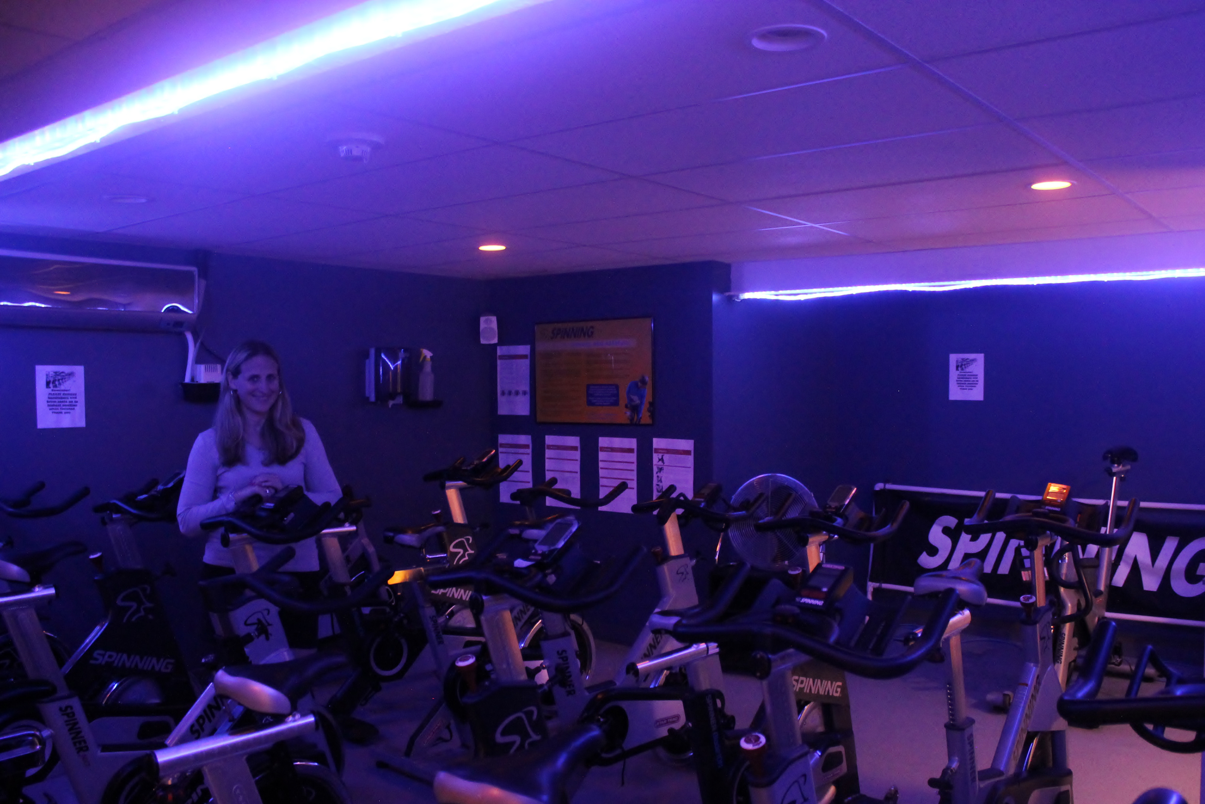 The durham fitness gym will hold its u cpedal for pinku d event on