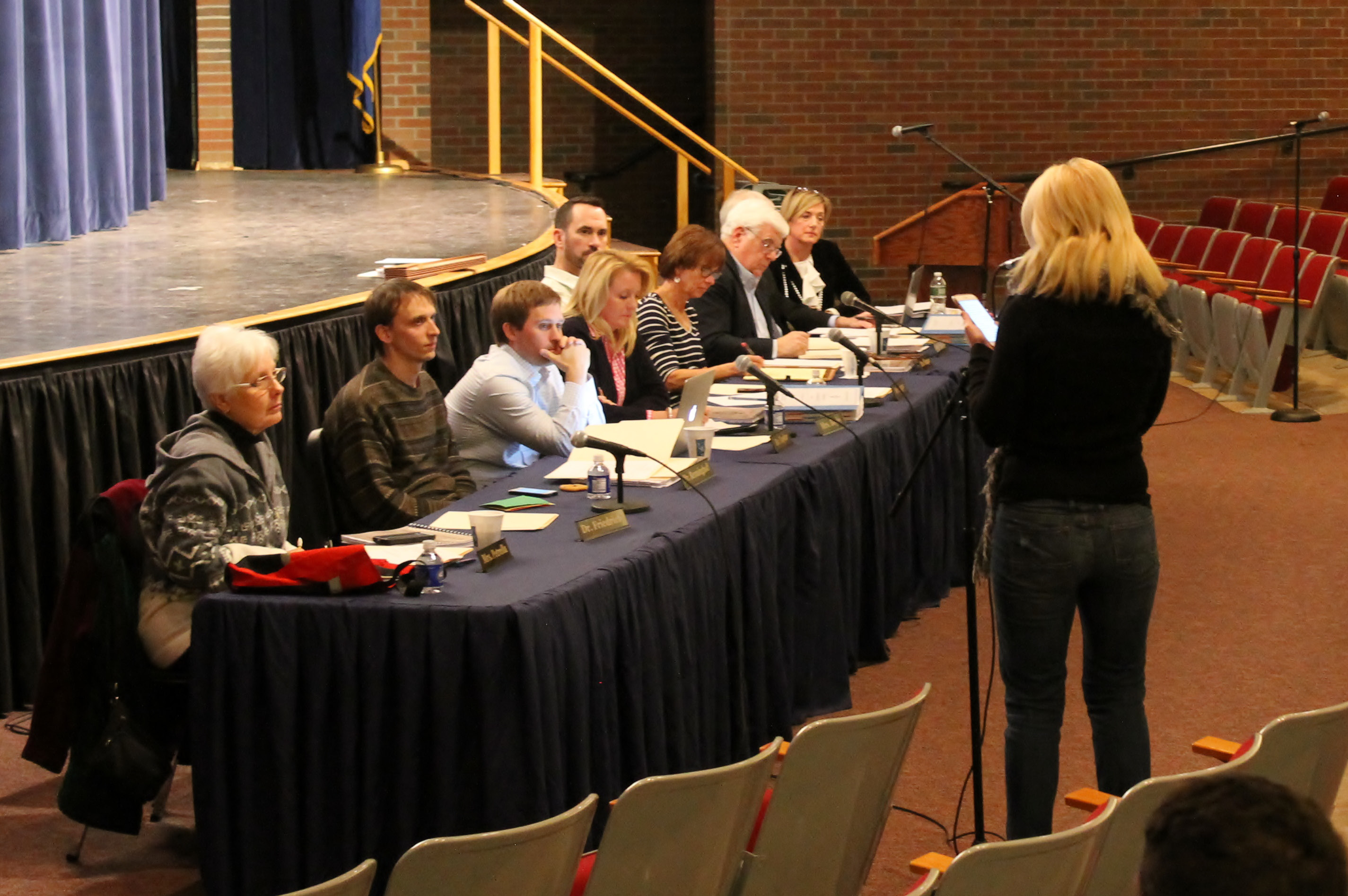 The Board of Education has been discussing topics related to the proposed 2016-2017 District 13 budget, but has yet to take action on the proposals.| Mark Dionne, Town Times