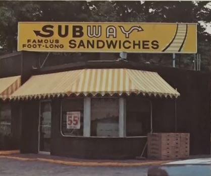 Another one of the first Subway restaurants in Connecticut.