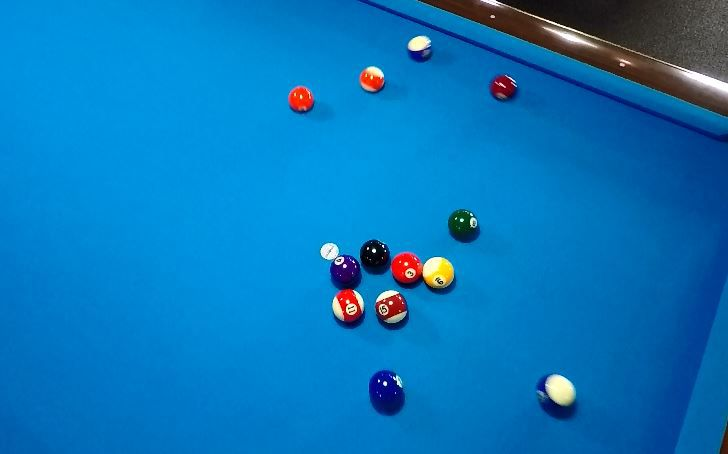 A pool table at Yale Billiards' new location at 169 N Plains Industrial Rd, Wallingford. |Ashley Kus, Record-Journal