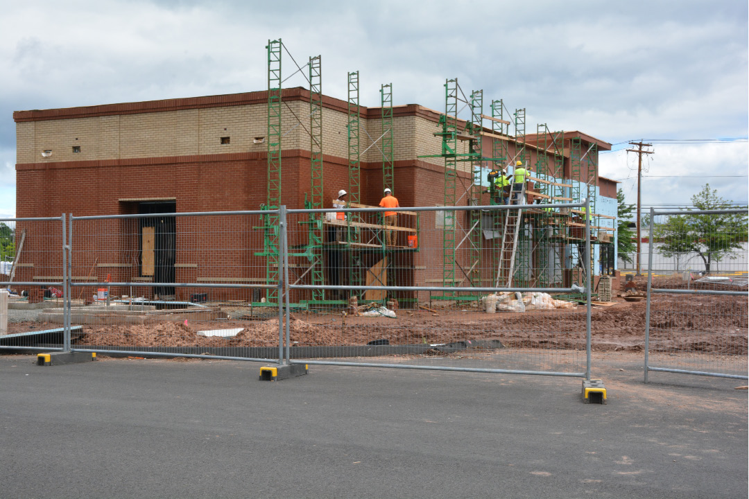 NORTH HAVEN — With construction underway, the Chick-fil-A on