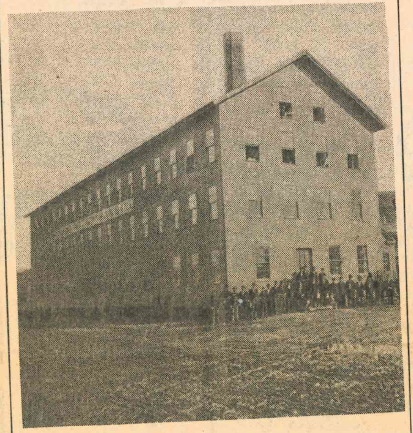 Manning, Bowman & Co.'s wooden factory. Record-Journal archives