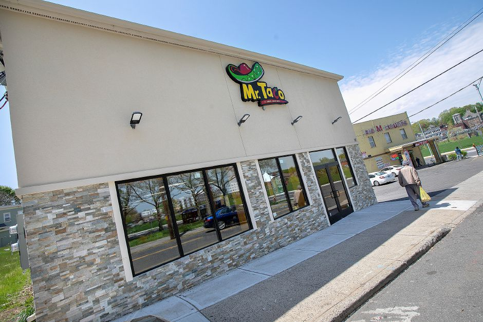 Mr. Taco, a new business at 69 Miller St. in Meriden. Dave Zajac, Record-Journal