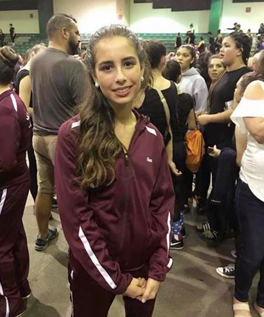 This photo taken from the Facebook page of Shawn Malone Reeder Sherlock shows an undated photo of her niece, Gina Montalto, a student at Marjory Stoneman Douglas High School in Parkland, Fla. Montalto was killed when former student Nikolas Cruz opened fire at the school Wednesday, Feb. 14, 2018. (Facebook via AP)
