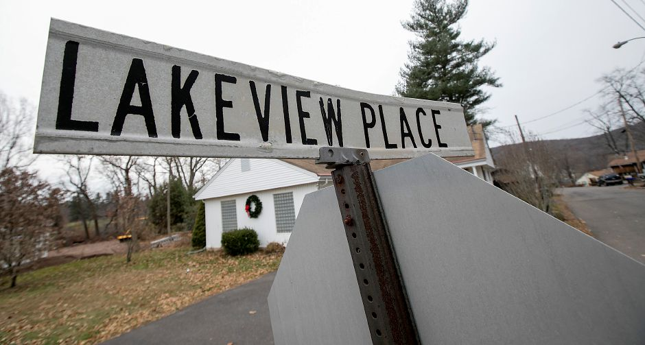 Lakeview Place in Middlefield, Friday, Dec. 8, 2017. Several residents are concerned that their small privately owned water company, Rainbow Springs Water System, made a request to cease operations and abandon its water system. Neither the town nor other water utilities want to take over the Rainbow Springs system. Dave Zajac, Record-Journal