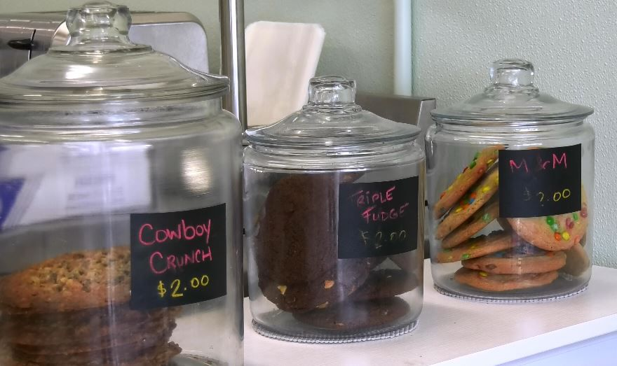 A selection of cookies at Keri