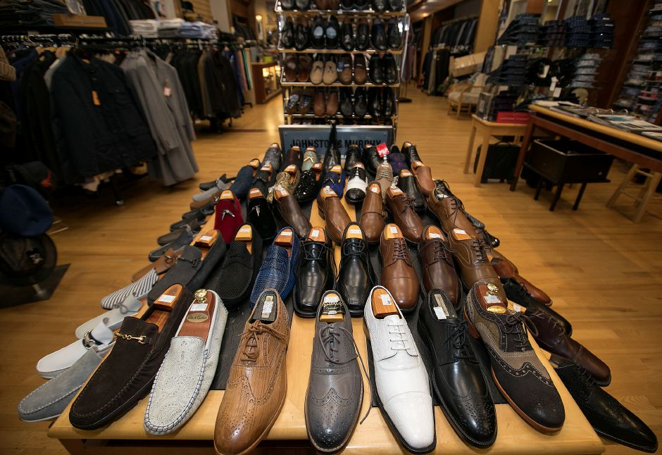 A variety of shoe styles at Ramani