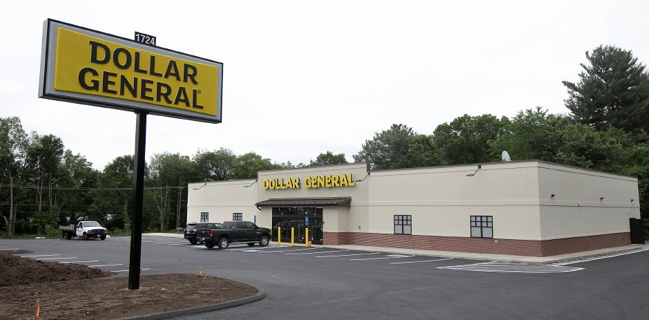 Work continues on a new Dollar General store located across from Dairy Queen at 1724 Meriden-Waterbury Tpke. in Southington, Monday, June 4, 2018. The store opens this month according to a worker from Harwinton based Garrett Homes, the developer of the property. Dave Zajac, Record-Journal