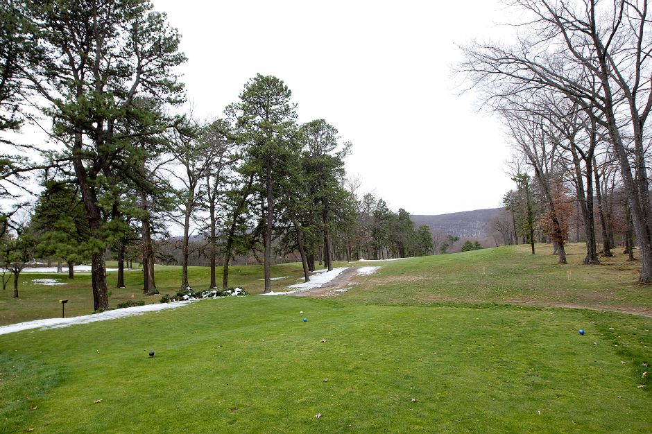 Future site of a new clubhouse for North Ridge Golf Club located near the entrance on Welch Road in Southington, Wednesday, April 6, 2016. | Dave Zajac/Record-Journal