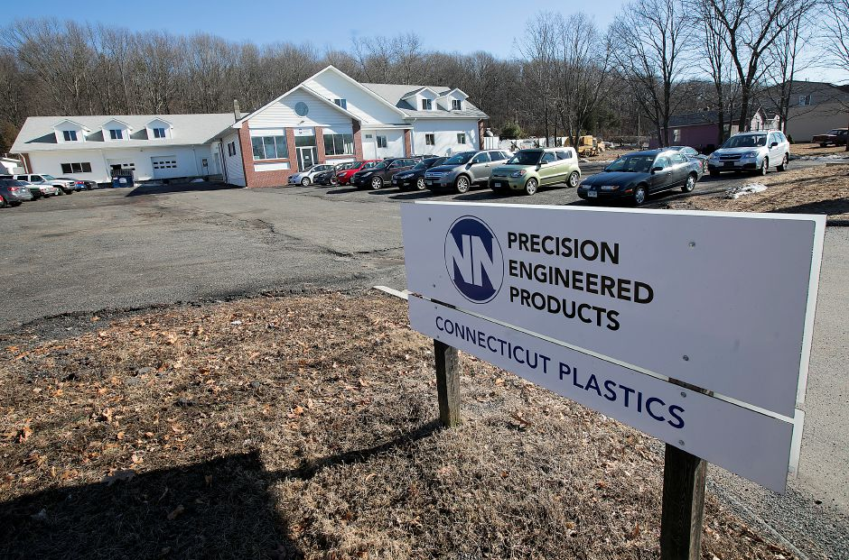 Connecticut Plastics at 1264 Old Colony Road, Wallingford.
