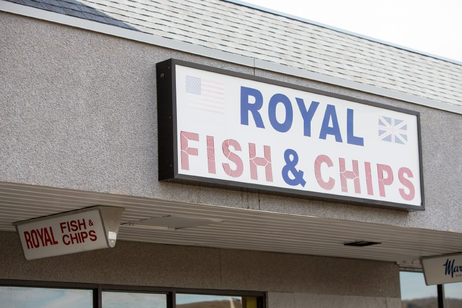 Royal Fish and Chips recently closed on East Main Street in Meriden December 5, 2018 | Justin Weekes / Special to the Record-Journal