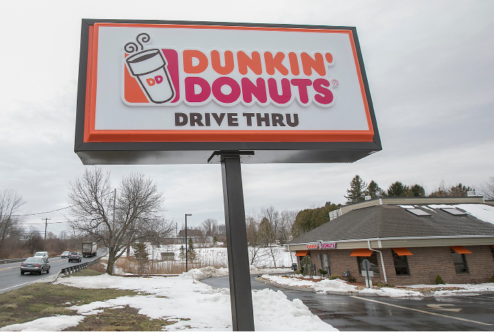 The new Dunkin Donuts at 1699 Highland Ave. in Cheshire, Friday, March 24, 2017. | Dave Zajac, Record-Journal