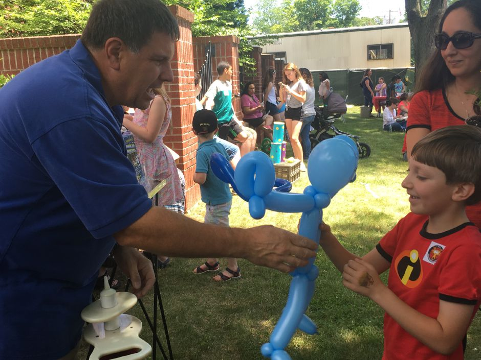 Hundreds of people attended the North Haven Memorial Library's summer reading kickoff carnival on Saturday, June 16, 2018. | Lauren Takores, Record-Journal