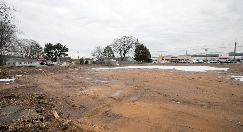 The proposed site for construction of an AAA building off Upson Drive in Southington. File photo, Record-Journal