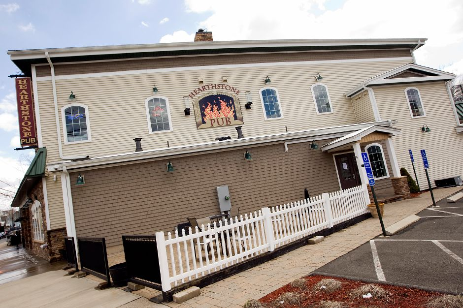 The Hearthstone Pub in Southington, Monday, March 21, 2016. The business is closed for remodeling and will be under new ownership when it reopens in late spring. | Dave Zajac / Record-Journal