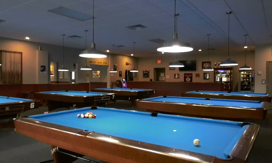 Yale Billiards' new location at 169 N Plains Industrial Rd, Wallingford. |Ashley Kus, Record-Journal