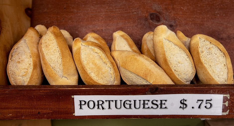 Portuguese bread at The Bakery On The Ave. in Berlin, Wed., June 12, 2019. Bakery owner Enzo Formica is planning to open another location on Center Street in downtown Southington next month. Dave Zajac, Record-Journal