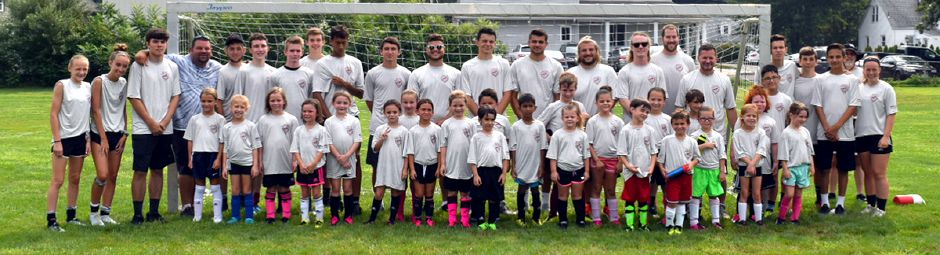 North Haven Soccer Camp, grades K to 3.