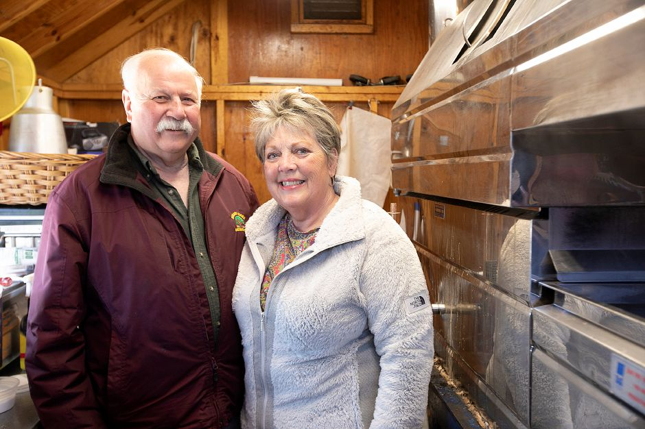 Michael and Diane Karabin of Karabin Farms, 894 Andrews St., Southington, Tues., Mar. 19, 2019. Dave Zajac, Record-Journal
