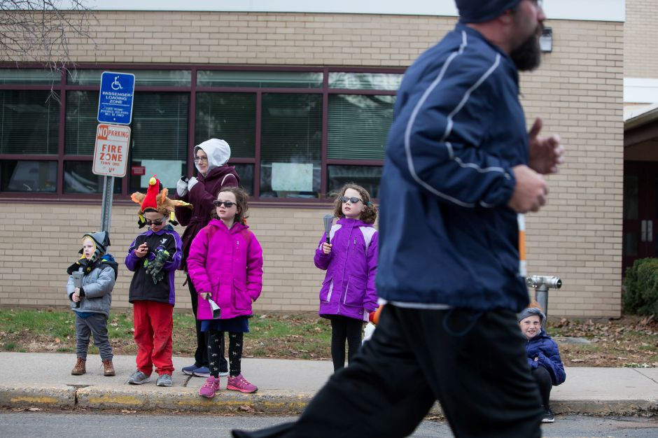 Sunday during the Kiwanis Turkey Trot 5k and 5 mile at Stevens School in Wallingford November 18, 2018 | Justin Weekes / Special to the Record-Journal