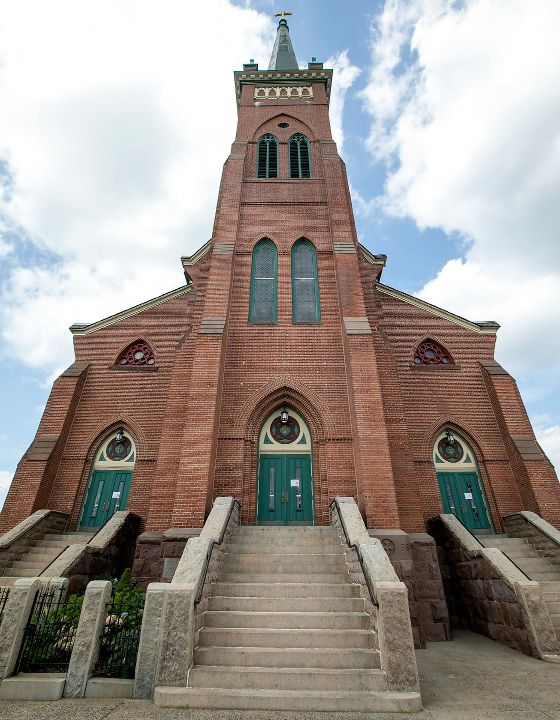 Most Holy Trinity Church in Wallingford, Thursday, August 31, 2017. | Dave Zajac, Record-Journal
