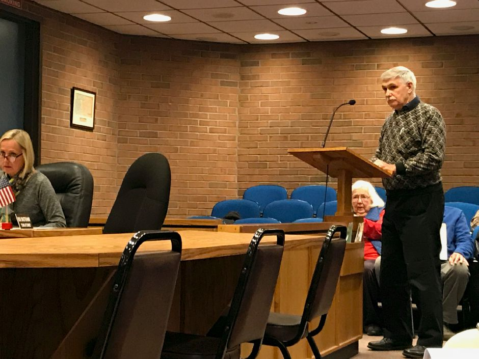 Plainville Town Council, Monday, April 16. |Ashley Kus, The Citizen
