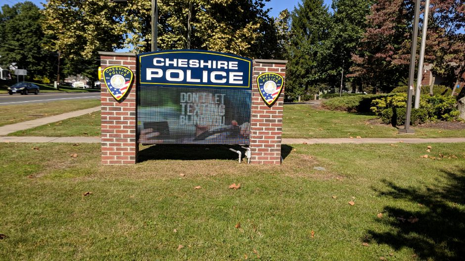Cheshire police department. |Mike Gagne, Record-Journal
