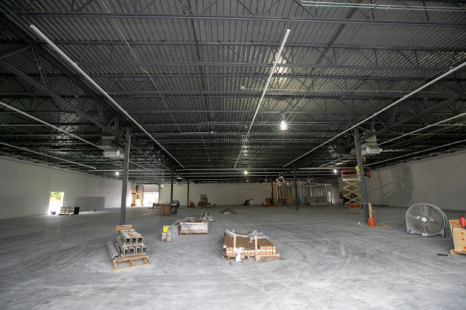 Interior view of Tractor Supply Co. under construction at 801 N. Colony Rd. in Wallingford, Friday, August 31, 2018. The property is at the intersection of North Colony Road (Route 5) and Beaumont Road, between Walmart and restaurant Rick's on 5. Dave Zajac, Record-Journal