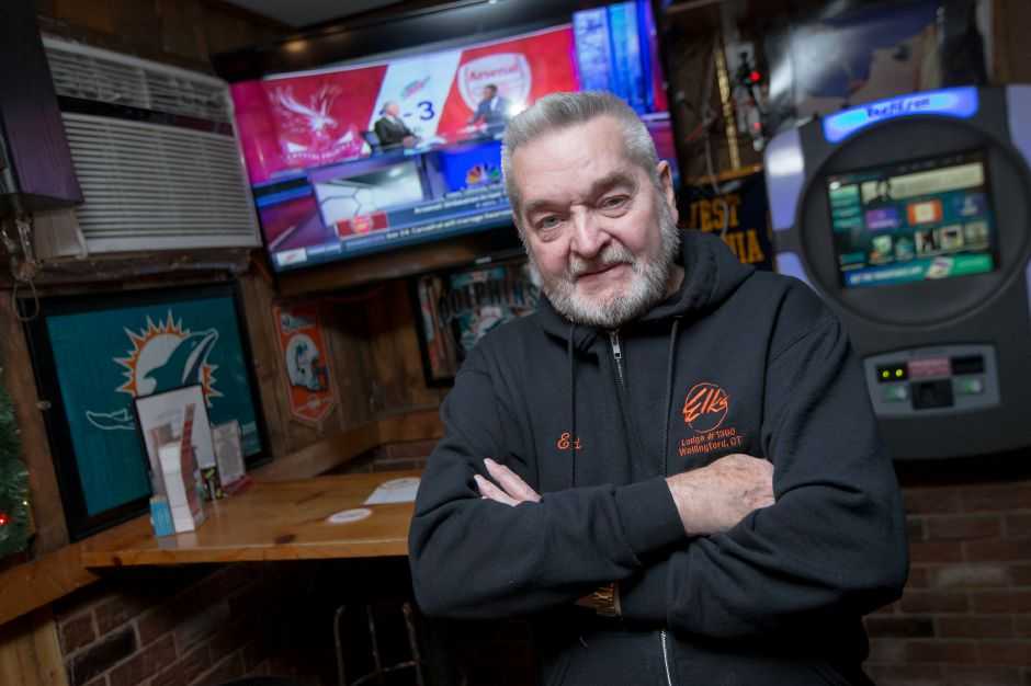 Ed Ruszczyk, owner of Grand Central Sports Bar, ahsn