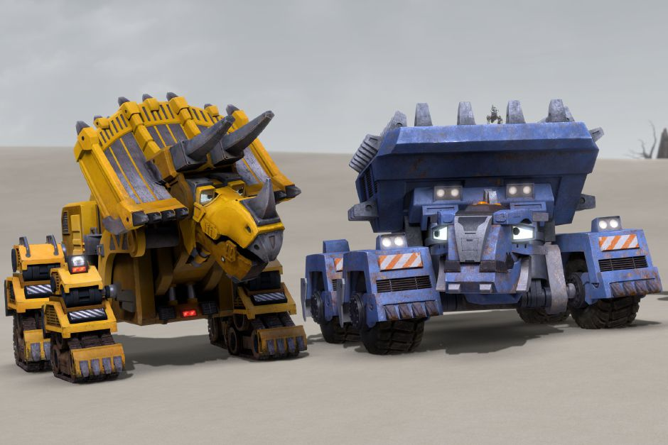 Originals Series for Kids: Dinotrux Supercharged, Season 2, March 23