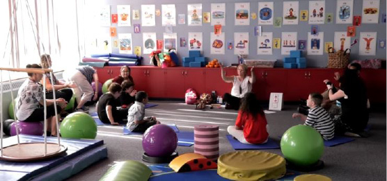 The Sensory Room at Hanover Elementary School was featured in a video created by Edutopia highlighting the school district