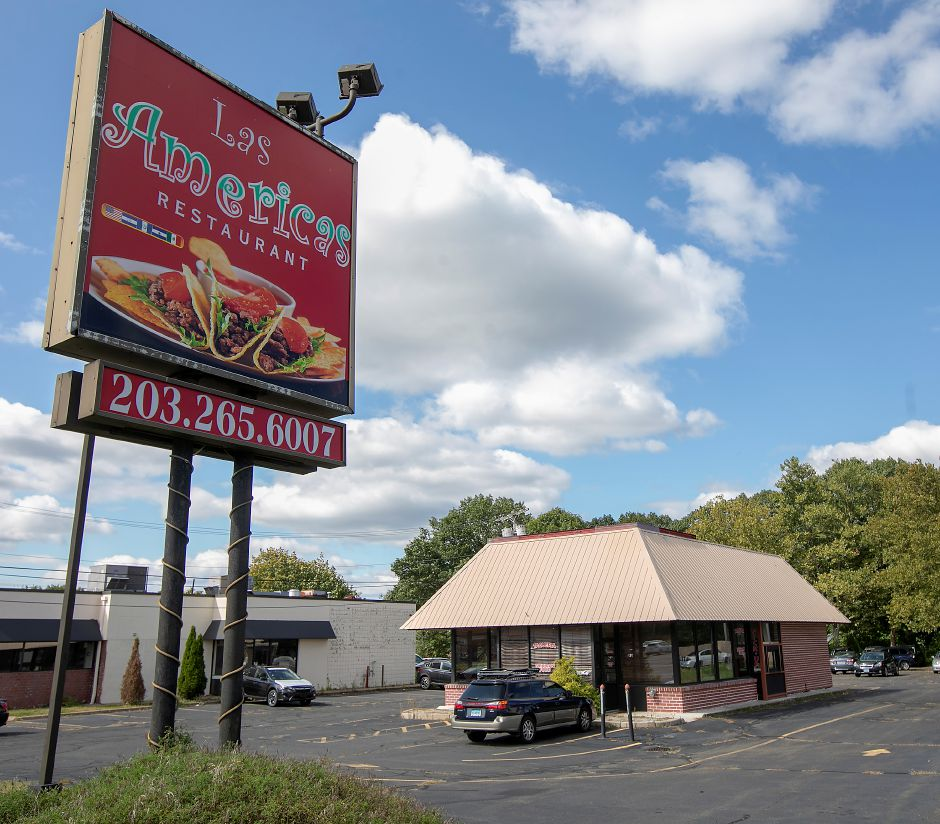 The former Las Americas Restaurant at 684 N. Colony Rd., right, in Wallingford, Wed., Sept. 18, 2019. The Planning and Zoning Commission approved a special permit for Quality Subaru to use the property for vehicle storage. Dave Zajac, Record-Journal