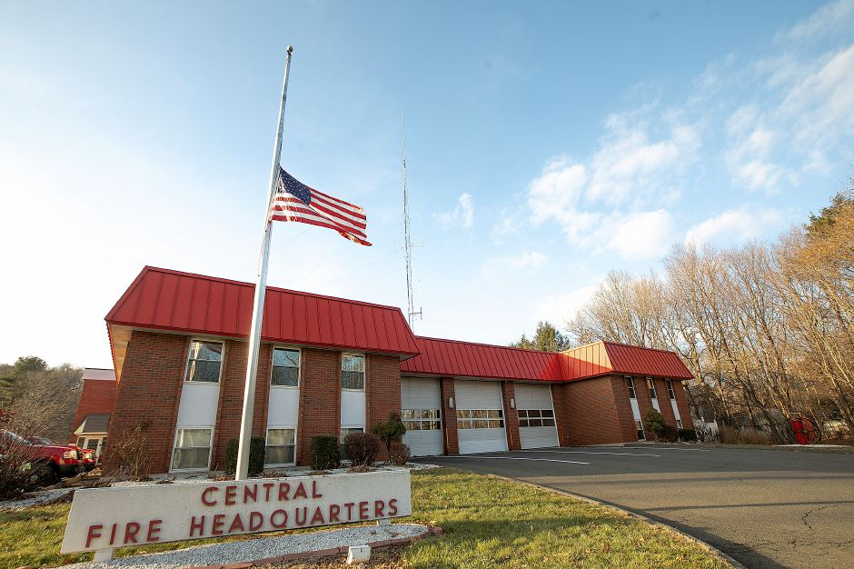 Central Fire Headquarters in Wallingford, Wednesday, Dec. 12, 2018. Dave Zajac, Record-Journal