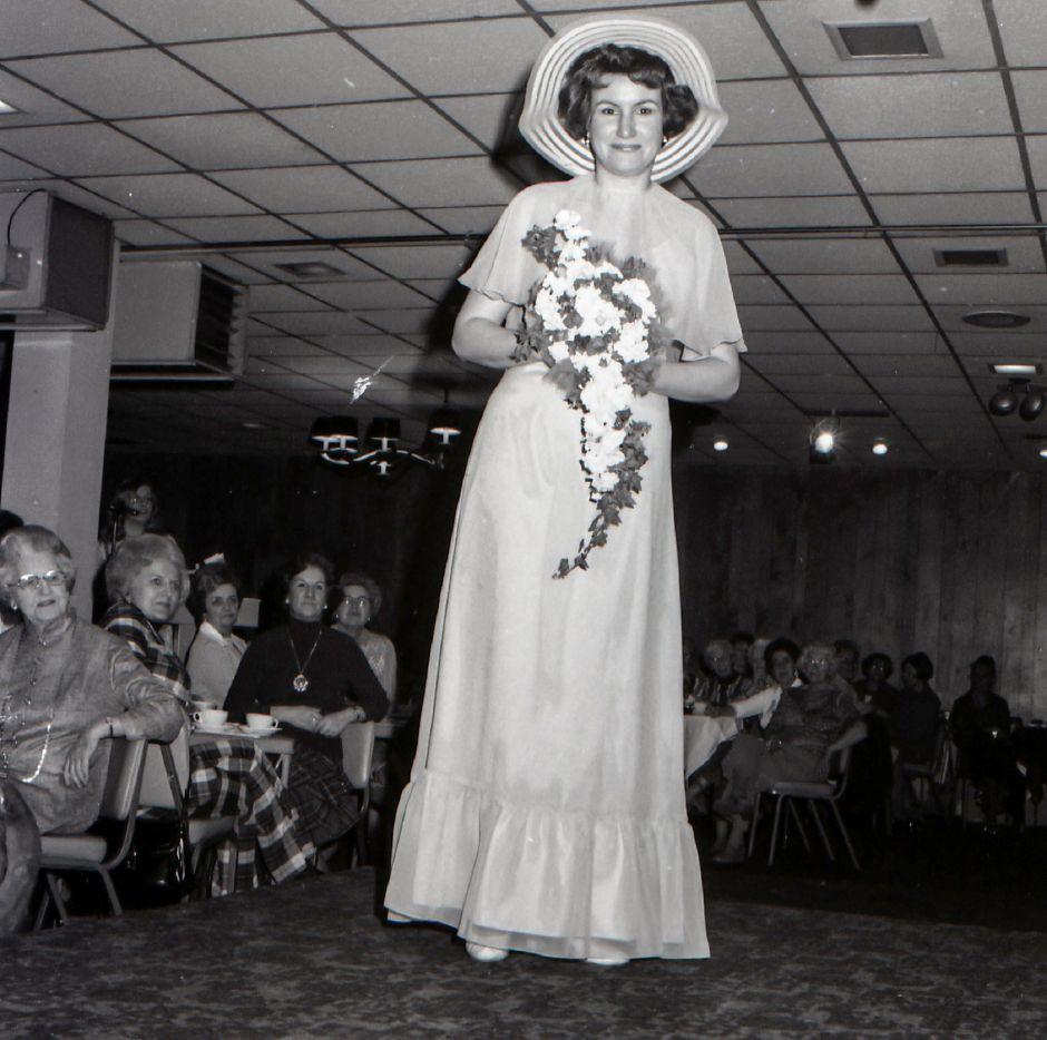 Meriden-Wallingford Hospital Auxillary Fashion Show, March 1975.