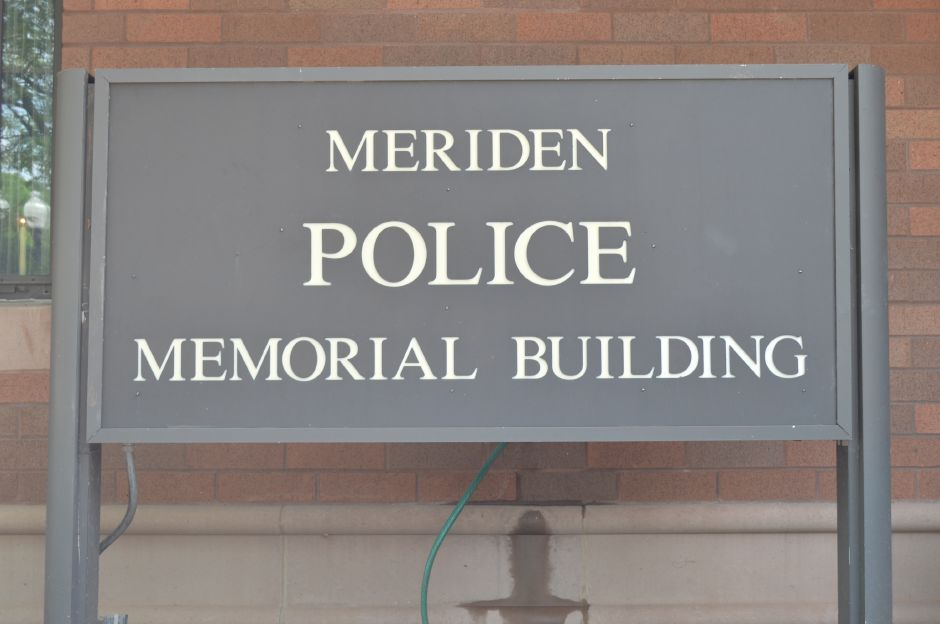 The Meriden police station in downtown. | Clare Dignan Special to the Record-Journal