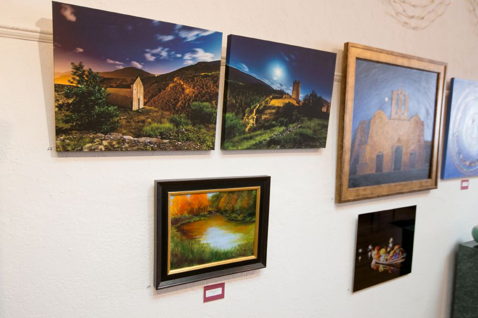 Photography and paintings were on display for the contest Saturday during Gallery 53