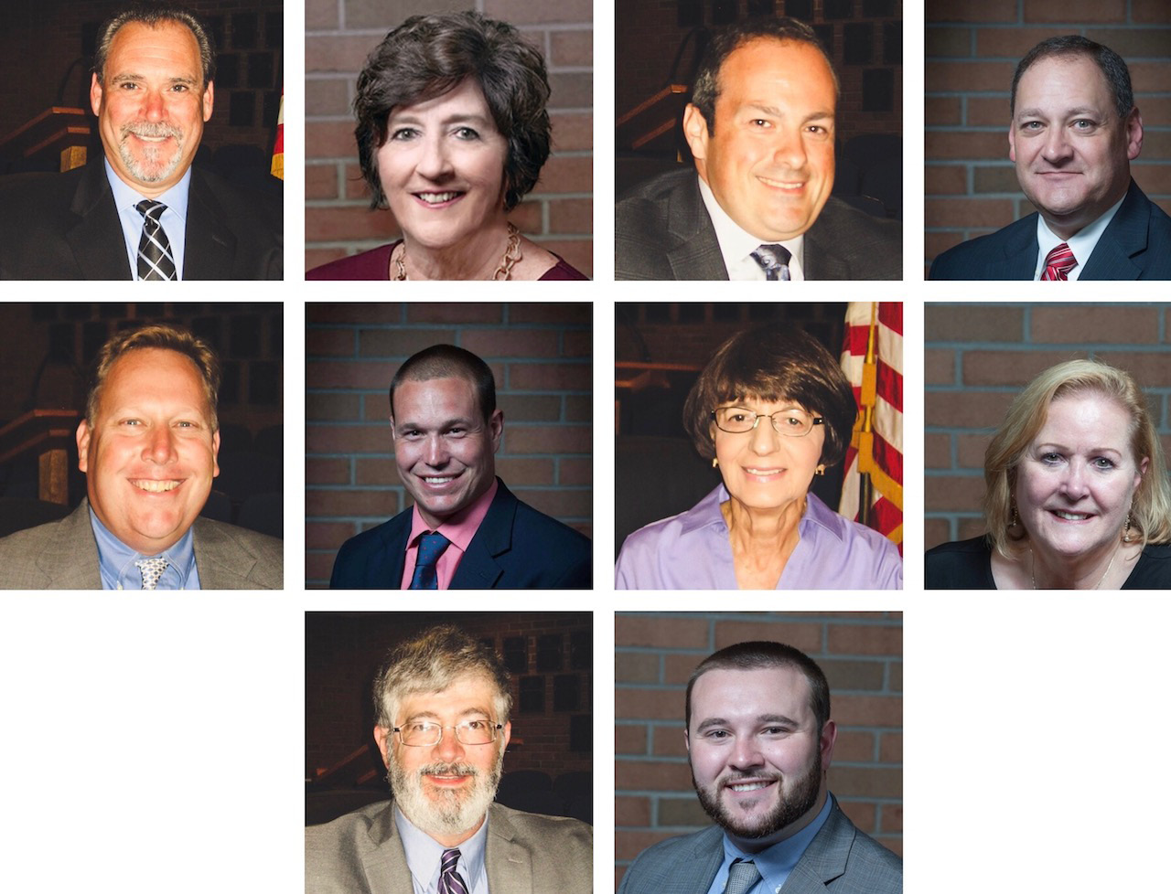 Candidates for Plainville Town Council.