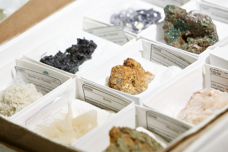 Saturday during the 47th Annual Meriden Gem Show sponsored by the Lapidary & Mineral Society of Central Connecticut at Maloney High School in Meriden March 3, 2018 | Justin Weekes / Special to the Record-Journal