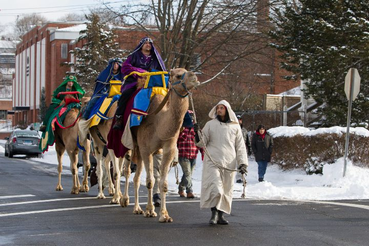 Three Kings Day is celebrated in Meriden on Jan. 8, 2017. File photos, Record Journal