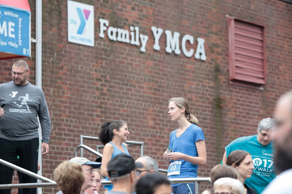 Sunday during the Fishbein/YMCA Community Road Race in Wallingford October 7, 2018 | Justin Weekes / Special to the Record-Journal