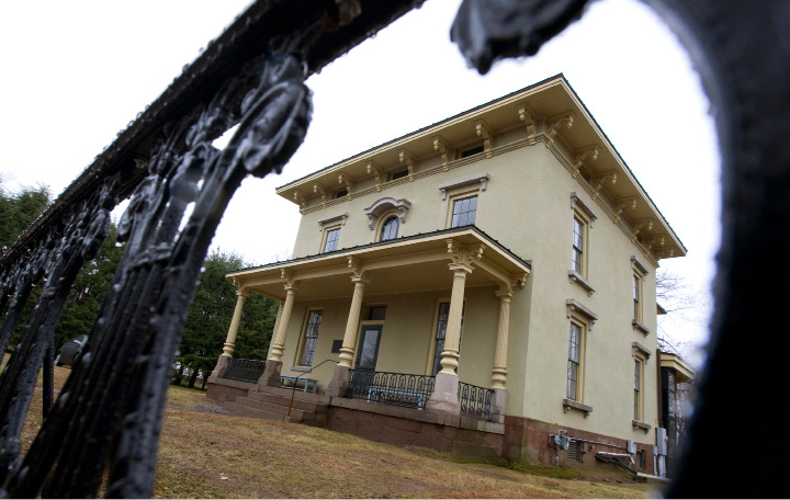 FILE PHOTO -- The Johnson Mansion on  Wednesday, December 10, 2014. |  Dave Zajac, Record-Journal