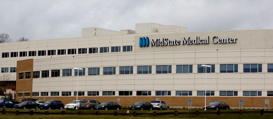 FILE PHOTO – MidState Medical Center in Meriden. (Dave Zajac/Record-Journal)