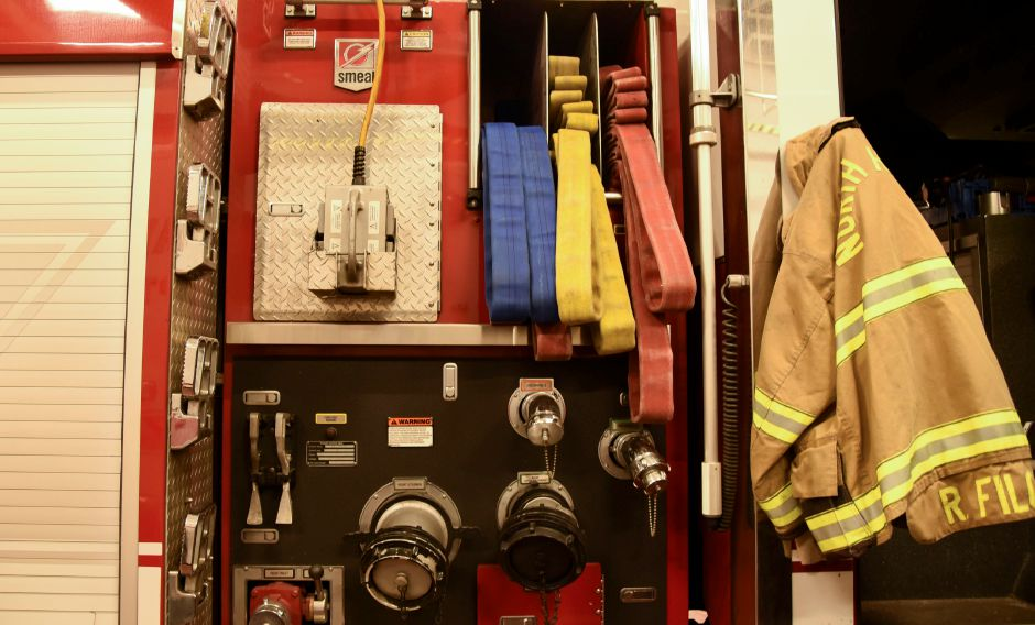 on Thursday, Dec. 2018. Fire Chief Paul Januszewski expects most of the equipment replaced by the end of the year, for about $800,000. | Bailey Wright, Record-Journal
