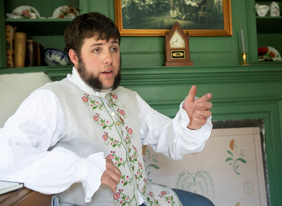 Joshua Dummitt, assistant curator, talks about the Solomon Goffe House.