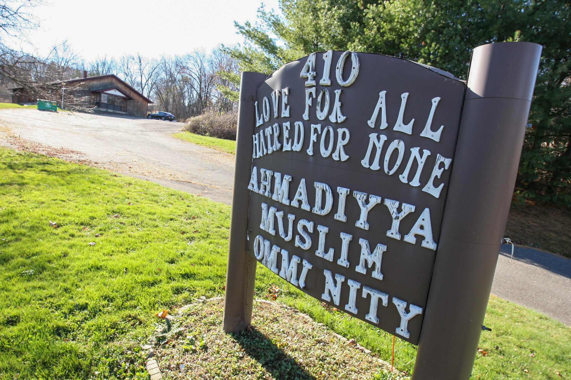 FILE PHOTO: The Baitul Aman mosque at 410 Main St. in South Meriden, Tuesday, Nov. 17, 2015. | Dave Zajac/Record-Journal