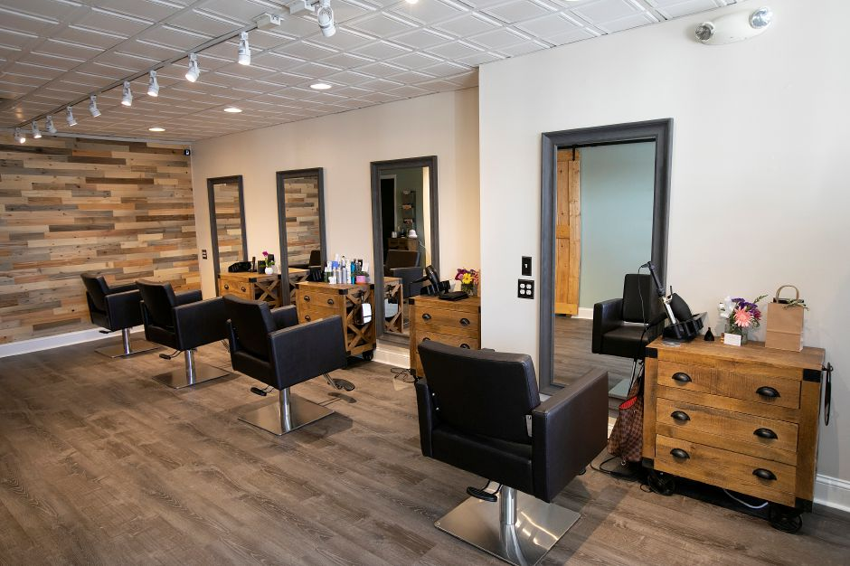 Interior view of T&CO, a new salon in The Kimberly Plaza at 540 Washington Ave, North Haven, Thurs, Feb. 14, 2019. Dave Zajac, Record-Journal